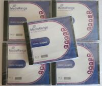 5x MediaRange Blu-ray BD-RE 25GB 2x Speed Jewelcase wiederbeschreibbar
