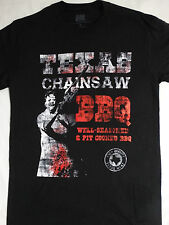 Texas Chainsaw Massacre Horror Leatherface BBQ Well Seasoned Pit Cooked T-Shirt