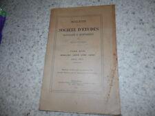 1954.Société d'études de Draguignan.Météorologie.Gassendi..