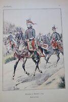 Hussards FALLOU Nos Hussards 1692-1902 + dédicace