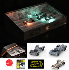 Hot Wheels SDCC 2016 Exclusive Star Wars CarShip Trench Run Light Up Effect