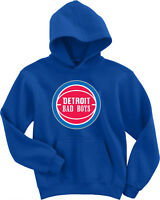 "Isiah Thomas Bill Laimbeer Detroit Pistons ""Bad Boys Logo"" HOODED SWEATSHIRT"