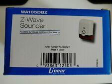 Linear Z-wave Sounder Alarm Wa105dbz-1