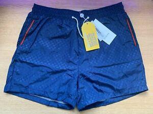 "Genuine Gucci Shorts Blue, XL, 34-36"" WAIST, RRP £250, Sensible offers"