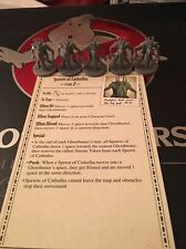 Kickstarter Ghostbusters Board Game 5 SPAWN OF CATHULHU + Ghost Card