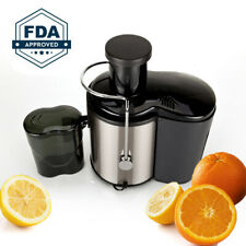 Electric Juice Extractor with Wide Mouth, 800W Stainless Steel, BPA-Free