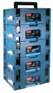 Makita Makpac Gr. 2 Transportbox 5er Set