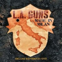 L.A.GUNS - MADE IN MILAN (DELUXE EDITION)   CD+DVD NEW+