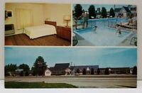 Ranch Motel Winchester Rd Lexington Kentucky Postcard A20