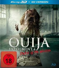 OUIJA Experiment  4  ; 3D blu ray ( includes 2D version )  ( NEW )