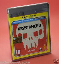 RESISTANCE 3 III PS3 PLATINUM nuovo sigillato
