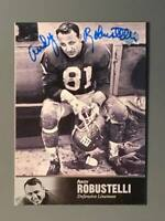 1997 Upper Deck NFL Legends #60 Andy Robustelli Auto New York Giants