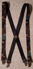 "Suspenders Children & Junior 1""x36"" FULLY Elastic Military Camouflage NEW"
