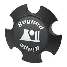 (1) Jeep Wrangler Wheel Center Cap XHD Black Rugged Ridge 15305.51 JK 07-17 X