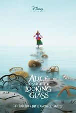 Alice Through the Looking Glass Original 27 X 40 Theatrical Movie Poster