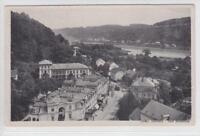 AK Bad Schandau, Teilansicht m. Hotel Lindenhof, 1950