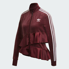 Adidas Originals Women's J KOO Maroon Track Jacket Size Medium FT9884
