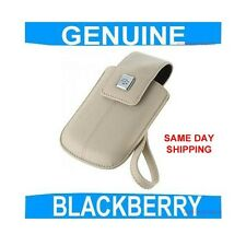 GENUINE Blackberry CURVE 8310 Leather Pouch Case Cover Mobile phone Smartphone