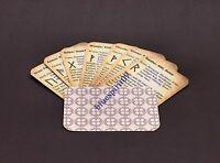 25 Runen Orakel Karten mit Bedeutung / Wahrsagen ohne suchen z.B. in einem Buch-