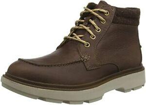 Clarks Men's Dempsey Moc Mid Calf Boots - size UK 9