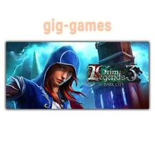 Grim Legends 3: The Dark City PC spiel Steam Download Link DE/EU/USA Key Code