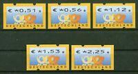 Bund ATM 4.1 VS 2 sauber postfrisch Automatenmarken BRD Posthorn € MNH