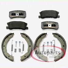 Mitsubishi Grandis NA8W 2.0 D DI-D 134bhp Rear Brake Pads Discs 302mm Solid