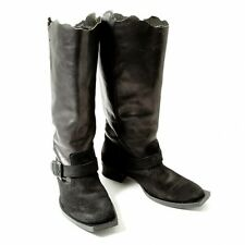 LIMI feu Leather boots Size US About  7.5(K-42771)