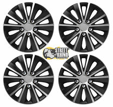 """16"""" Universal Rapide Wheel Cover Hub Caps x4 Ideal For Nissan Tiida"""