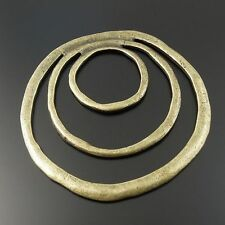 8PCS Antique Style Bronze Tone Jewelry Round Charm Pendant Finding 51*51*2MM