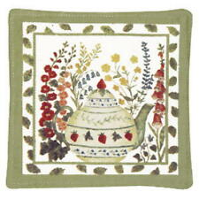 New listing 2 Alice's Cottage ~ Spiced Hot Pads ~ Teapot ~ Usa Handmade (New) Sale!