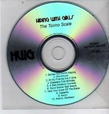 (DE578) Hiding With Girls, The Torino Scale - 2004 DJ CD