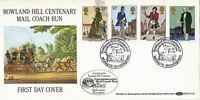 22 AUGUST 1979 SIR ROWLAND HILL CENTENARY BENHAM BOCS 13 FIRST DAY COVER SHS (b)
