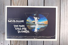 The Man Fell to Earth Lobby Card Movie Poster David Bowie