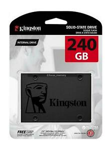 Kingston SSD A400 240GB Solid State Drive 2.5 inch SATA 3 Speeds up to 500MB/s
