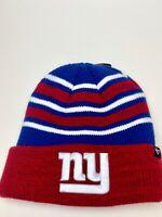 New York Giants Beanie Hat Cap Cuffed NFL - 47Cuff Knit