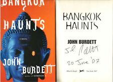 BANGKOK HAUNTS - JOHN BURDETT - SIGNED & DATED 1ST/1ST