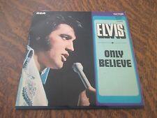 45 tours ELVIS PRESLEY only believe