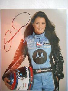 Danica Patrick signed 2007 #7 MOTOROLA HONDA DAYTONA 500 Indy 8x10 Photo