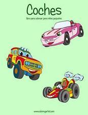 Coches para niños Pequeños: Coches Libro para Colorear para niños Pequeños 1...