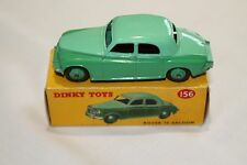 Dinky 156 Two Tone Green Rover 75. Mint & Boxed.