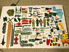 VTG. 80's Action Figure Accessory Parts & Pieces Lot (GI Joe and Transformers)