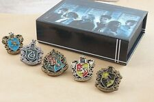 5 Pcs Harry Potter Metal Brooche Badges Figure Cosplay Badge Ravenclaw Hogwarts