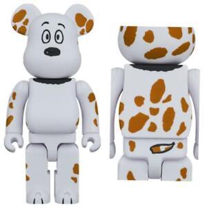 400% Bearbrick Peanuts Snoopy Be@rbrick 2021 Marbles Rare Limited Medicom Toy