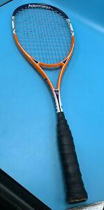ORIGINAL Harrow Vibe Squash Racquet ORANGE/BLUE