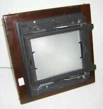 4 x 5 Grafloc Back for 5 x 7(?) Deardorff Cameras