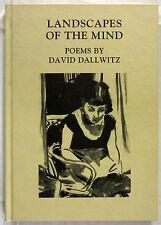 SIGNED Landscapes of the Mind Poems/Art David Dallwitz 1st Ed HC 1997  Ltd Ed