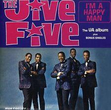 The Jive Five - Im a Happy Man (plus Bonus Singles) CD Cherry Red