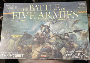 The Battle of Five Armies by Ares Games The Hobbit BRAND NEW SEALED
