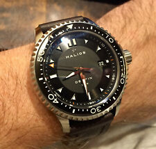 Halios Delfin 500m Diver Leather band Automatic Discontinued 44mm